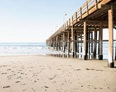 "Large Art, Ventura Pier, California, Beach Art, Decor, Wall Art, Pier Photograph, Beach Photography, Coastal Decor, Seaside, ""Ventura"""
