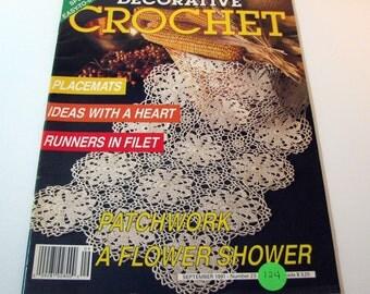 Decorative Crochet Magazine - September 1991 - # 23- Crochet patterns