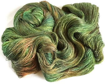 Persuasion Silk Linen Lace Yarn. Whispering Trees.