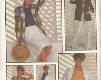 Simplicity 6885 Plus Size Separates Pattern SZ 18 and 20