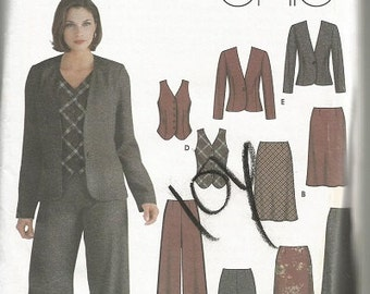 Simplicity 5792 Easy Chic Separates Pattern SZ 12-20   CLEARANCE ITEM