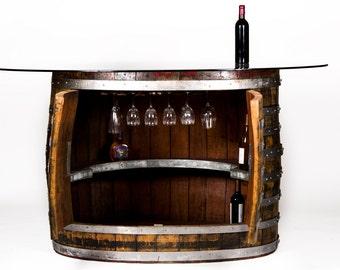 NAPA - Pub - Wine Barrel Bar - One of a kind - 100% recycled
