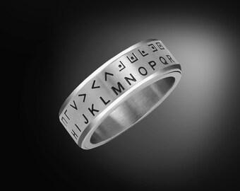 Secret Decoder Ring - Pig Pen Cipher