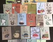 Alphabet Cards A to Z Ani...