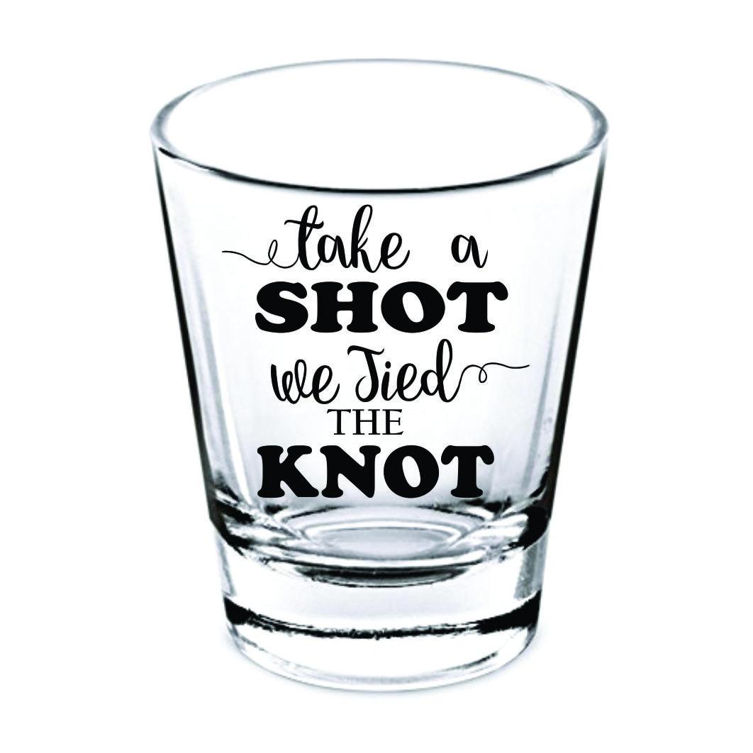 Wedding Shot Glasses
