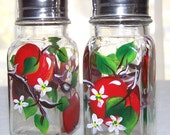 Red Apples Salt and Pepper Shakers