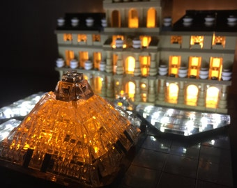 Light up kits for LEGO Architecture 21024 Louvre Building Kit (Model not included)