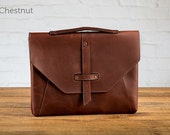 The Valet Luxury Laptop Bag for the iPad Pro 12.9 - Chestnut