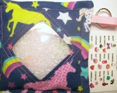 I Spy Bag Unicorns Girls themed contents seek and find party favor autism sensory occupational therapy