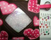 I Spy Bag Hearts Girls themed contents seek and find party favor autism sensory occupational therapy
