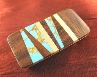 Brother Gift Unique Wood Money Clip for Men Gift Handmade MC195