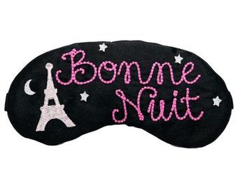 Bonne Nuit Paris Sleep Mask Paris Party Favors Eiffel Tower France