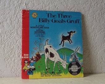Book with Record: The Three Billy Goats Gruff, 1982