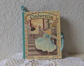 Vintage CINDERELLA  Peepshow Book in carousel form, Rare, 1970s