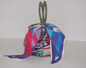 1950's vintage DORSET FIFTH AVENUE Metal Egg Basket Styler Purse Handbag dorset rex