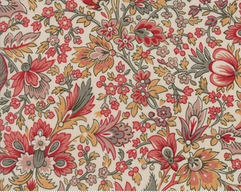 Madame Rouge - Safran in Pearl by French General for Moda Fabrics