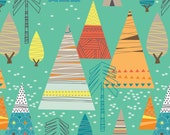 Crib Sheet - Teepee Forest - Fitted Crib Sheet