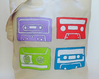 Old School Cassette Tote bag