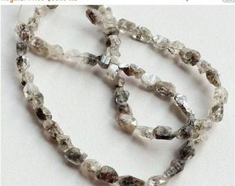 55% ON SALE Herkimer Diamond Quartz, Raw Diamond Quartz, Rough Diamond Quartz, Diamond Quartz Necklace, Diamond Quartz Nuggets, 7-9mm, 29 Pi