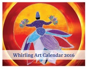 WHIRLING ART Calendars 2016 Plus signed photo print