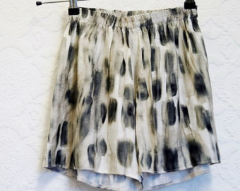Boho brinted holiday shorts