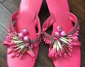 Vintage 1960's Kamehameha Hawaii shoes
