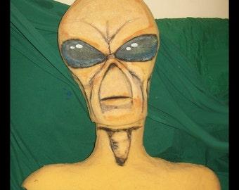 Alien Head for Halloween