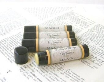 Mango Lip Balm with Jojoba and Cocoa Butter