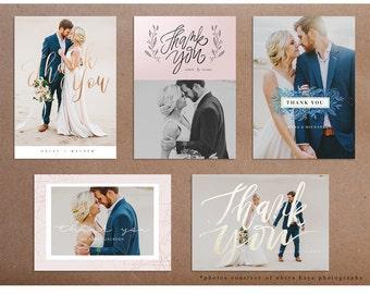 2016 Wedding Thank You Cards
