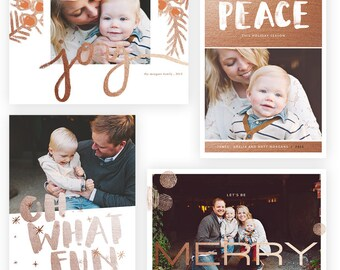 Copper Holidays 5x7 Whcc Cards