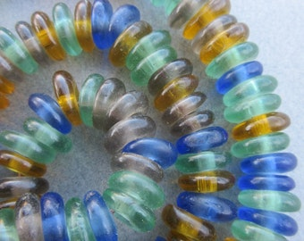 Mixed African Glass Beads