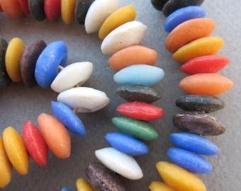 Mixed Ashanti Glass Beads