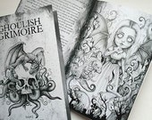 Ghoulish Grimoire - Horror Zine Art Book - Issue 1 -