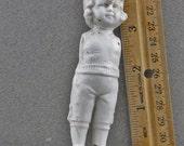 Vintage Antique Excavated German Frozen Charlotte Miniature Porcelain Ceramic Doll