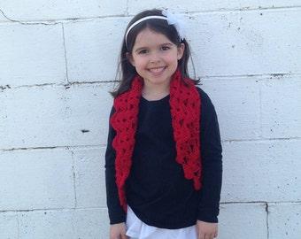 Girls Bolero Fits size 4T to 8x, Ready To ship, Crochet Shrug, Flower girl bolero, wedding bolero, girls clothing, photo prop