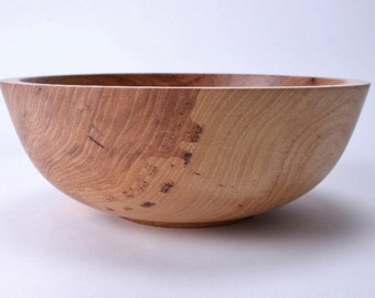 "Hickory Wooden Bowl #1517  9"" X 3 1/4"""