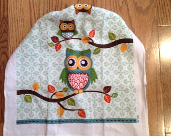 Hanging Owl Dish Towel