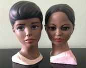 Vintage Holland Busts/ collectible figurines