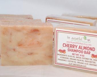 Cherry Almond Shampoo Bar