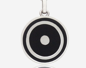 Sterling Silver Sol Pendant