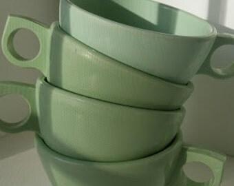 Midcentury Melamine Cups