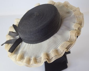 Antique L & B Karo Hat