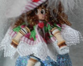 doll made buttons free hat cute g8 gift for any BFF