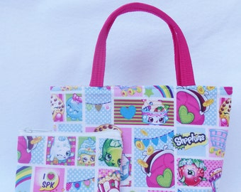 Shopkins Kids Purse and Coin Bag Set