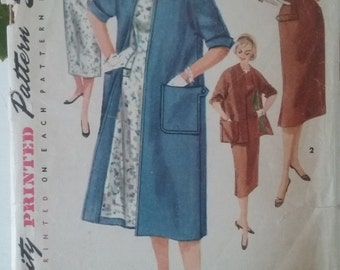 1950' Simplicity 1458 Coat and dress size 16
