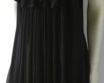 YOHJI YAMAMOTO black dress from 90s