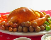 Christmas Dinner, As featured on the Dec 2015 DHMS magazine cover