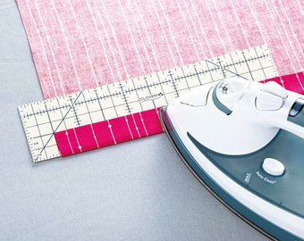 Clover Hot Ruler Use for Ironing Quilting  Hemming Quilt Binding