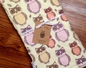SALE 30% OFF. Owl Baby Blanket. Blanket for Baby and Toddler.