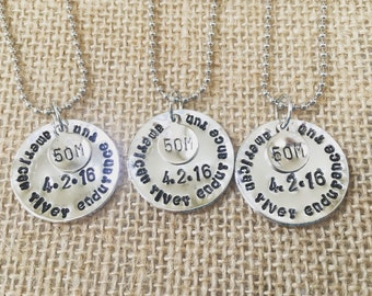 Running Memory Necklace